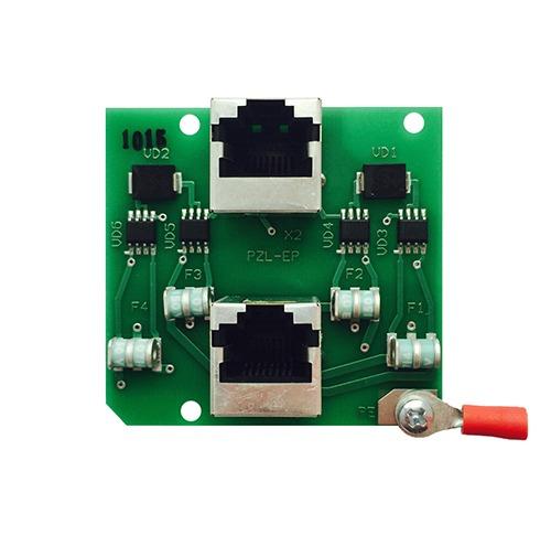 Плата защиты портов сети Ethernet  с питанием PoE <br>ПЗЛ-ЕП
