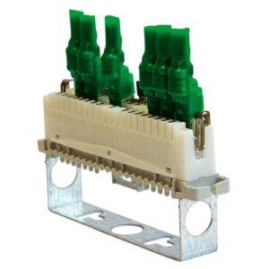 Устройство защиты оборудования в линиях систем сигнализации кроссовое <br>УЗЛ-СК-12
