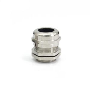 Гермоввод (с контргайкой и резиновым кольцом) 13-18 мм<br>никелированная латунь 9