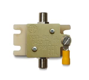 Устройство защиты высокочастотных цепей <br>УЗП-ВЧ F 9
