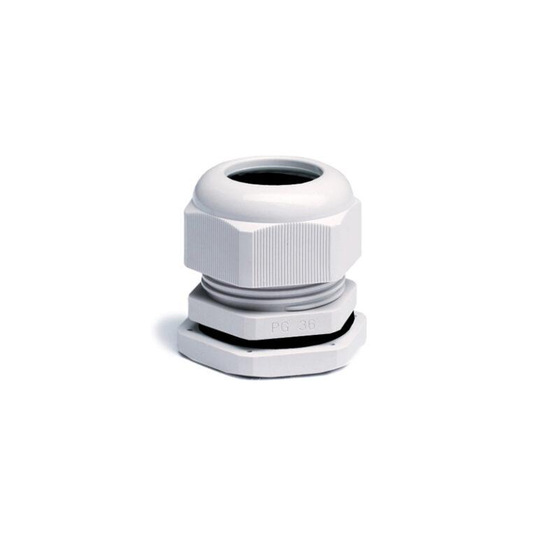 Гермоввод (с контргайкой и резиновым кольцом) 13-18 мм<br>пластик